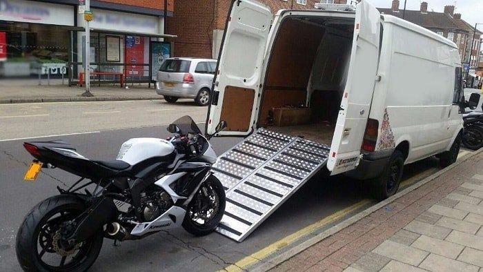 remorquage de moto